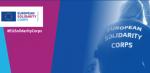 logo del cuerpo europeo de solidaridad