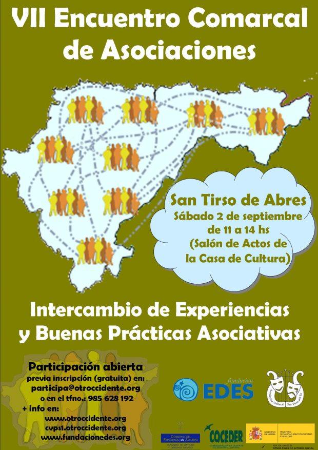 Cartel VII encuentro comarcal de asociaciones